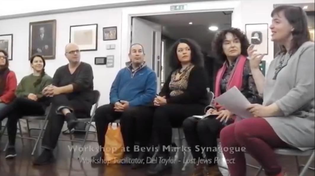 Bevis Marks Workshop – Del Taylor